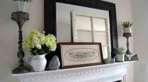 Easy Ideas City Farmhouse Seasons Spring Home Decor Mantle Of Ating For