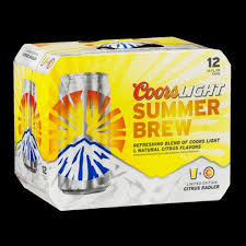 Coors Light Summer Brew Citrus Radler Influenster