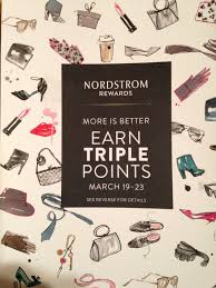 Polarbelle Nordstrom Triple Rewards Points For March 2014