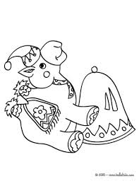 Donkey Christmas Camel Coloring Page