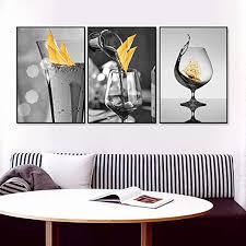 cnhnwj moderne schwarz weiß wandbilder leinwandbild bilder