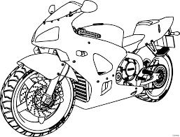 Printable Dirt Bike Coloring Pages Best Honda Motorcycle Drawing At Getdrawings