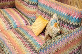 100 Missoni Sofa MILAN ITALY JANUARY 26 Couch On Display At HOMI