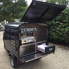 Piaggio Ape 50 Coffee Van Mobile Catering Business For Sale Black | EBay