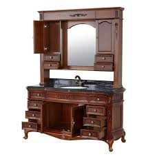 Single Sink Vanity With Makeup Table by Antique Bathroom Vanity Tall Antique Bathroom Vanity U2013 Home