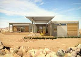 104 Mojave Desert Homes Video Visit A Prefab In The