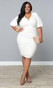 13 plus size little white dresses for summer white