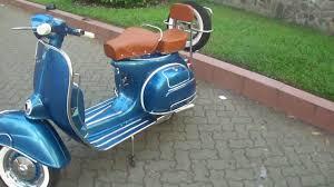Fully Restored Classic Vespa VBC 150cc In Metallic Blue