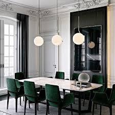 dramatic emerald velvet ventura chairs and concorde