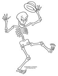 Halloween Is And It Makes My Bones Feel Like Dancing For More Coloring Pages CLICK HERE Click The Image To Open A Print Color