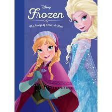 Frozen The Story Of Anna Elsa Book ShopDisney