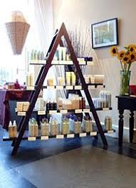 Vintage Shop Inspiration Oo Old Ladder And Boards As Display Shelves