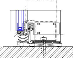 sill starter detail yuw 750 xt 08 44 13 curtain wall ykk