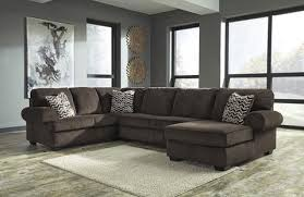 Chocolate Corduroy Sectional Sofa by Jinllingsly Contemporary Chocolate Color Corduroy Right Corner