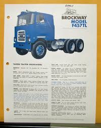 Brockway Trucks Model F457TL Tandem Tractor Specification Sheet 2016 Truckers Choice 1972 Brockway 361 Youtube Trucks Message Board View Topic Pic Of The Looking At 257 1963 1964 1965 Truck 44bd Gas Engine Sales Folder 411 Rear From Premier Subaru Ptssubaru City 2017 Outback 2 5i Premier Historic Drill Team Trucks Long Island Fire Truckscom 776 Heavyhauling Pinterest Rigs In Action 2010 Part 3 Autocardumptruckforsale Autocar Commercial 1987 1974 N361ll80424 For 1949 260xw Iowa 80 Museum Trucking