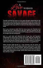Amazon A Love Turned Savage 9781981928309 Author Zaii Books