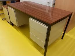 bureau metal bois bureau metal bois bureau design bois et m tal jugend by drawer for