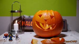 Preserving A Carved Pumpkin by How To Carve A Vampire Halloween Pumpkin Diy Youtube