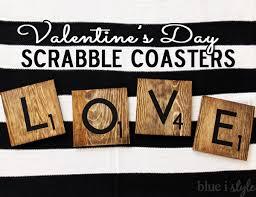 l o v e scrabble tile coasters hometalk