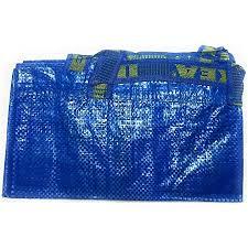 ikea einkaufstasche frakta groß ideal für einkaufen wäsche und aufbewahrung blau