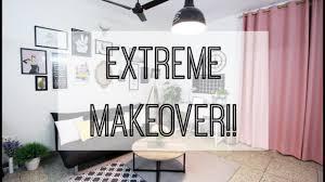 extreme makeover epi 1 living room decor home office room tour