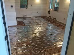 Pex Radiant Floor Heating by The Above Floor Suspended Slab Installation Diy Radiant Floor