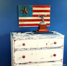 Iron Star Rustic American Flag