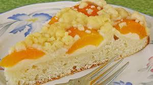 aprikosen vanillecreme streusel blechkuchen