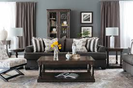Levon Charcoal Sofa And Loveseat by Low Profile Casual 96