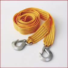 100 Tow Ropes For Trucks Tow Rope Car Strap Kinetic Cable Hooks Nylon Truck 5 Ton Heavy Duty