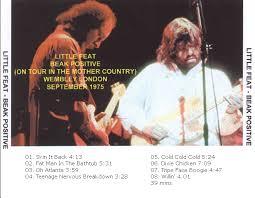 roio blog archive little feat wembley 1975