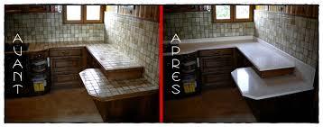 rénover plan de travail cuisine carrelé renovation plan de travail cuisine carrelé idées de décoration à