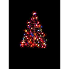 Blinking Xmas Tree Lights by Home Accents Holiday 6 Ft Pre Lit Led Tree Sculpture With Star