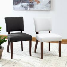 Upholstered Kitchen Chairs. Black Counter Height Chairs Upholstered ...