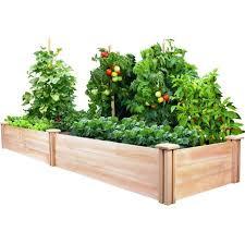 Cedar Wood 2 Ft x 8 Ft Raised Garden Bed Planter Frame