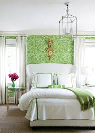 Popular Of Green Bedroom Decorating Ideas On Home Decor With Relaxing Warm White