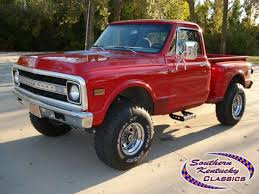 100 Chevy Stepside Truck For Sale 1969 C10 STEPSIDE 4X4 Wwwsokyclassicscom C10
