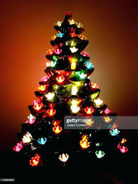 Ceramic Christmas Tree Light Kit Lights Bulbs With Mini Medium Size
