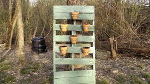 Vertical Gardening Pallet Planter