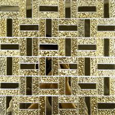 Mirror Tiles 12x12 Gold by Mirrored Mosaic Tile Backsplash Zyouhoukan Net
