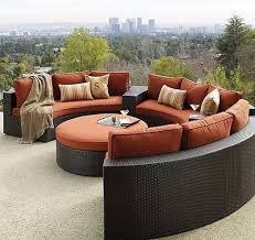 modern wicker sectionals patio furniture and outdoor furniture