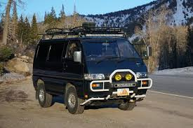 The Mitsubishi Delica L300 Now Invading from Planet Japan