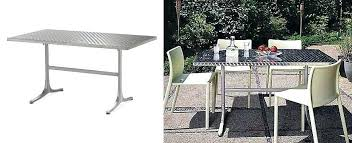 View In Gallery Stainless Steel Dining Table From Design Within Reach Round Set Tables