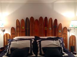 Beachy Headboards Beach Theme Guest Bedroom With Diy Wood by Wooden Water Ski Headboard Water Skiing Pinterest Water