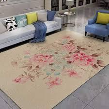 zjmwq 3d carpet einfache teppich platz waschbar carpet für wohnzimmer schlafzimmer dekoration baby krabbeln matte kinder spielmatte apricot 140