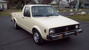 100 Rabbit Truck 1980 VW Diesel Pickup For Sale 2700 YouTube