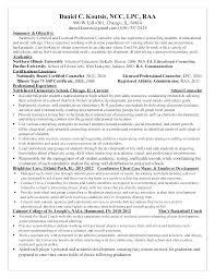 Career Advisor Cv Sample Mental Health Counselor Resume Counselors Of Therapist Licensed Professional Ment