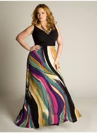 size maxi dresses black elegant
