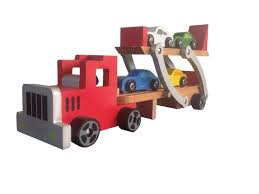 100 Toy Car Carrier Truck China Wooden Rier With 4 PCS S For Children