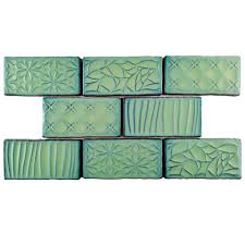 Rittenhouse Square Beveled Subway Tile by Jeffrey Court Allegro Beveled 3 In X 6 In X 8 Mm Ceramic Wall